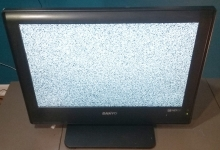 "Superstar Universe, LLC Sanyo 19"" 720p HD LCD Television/Computer Monitor WITH FREE SHIPPING"