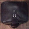 Superstar Universe, LLC VINTAGE SAMSONITE ROYAL TRAVELLER Brown LEATHER SUITCASE WITH FREE SHIPPING