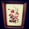 Superstar Universe, LLCVintage Handmade Framed Pressed Signed Wild Flowers Boquet WITH FREE SHIPPING