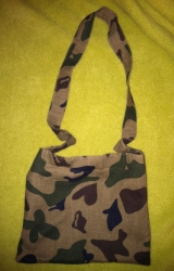 Superstar Universe, LLC Handmade Camouflage Purse WITH FREE SHIPPING
