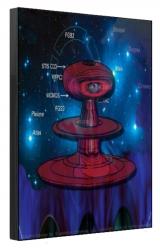 Superstar Universe, LLC Titled Mother Pleione Print 1/100 12 X 18 Jet Black Canvas