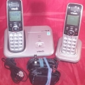 Superstar Universe, LLC VTech Dect 6.0 2-Handset Cordless Telephone with FREE SHIPPING
