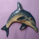 Superstar Universe, LLC Shark Colorful IRON Metal Wall Art Sculpture Made In Haiti WITH FREE SHIPPING